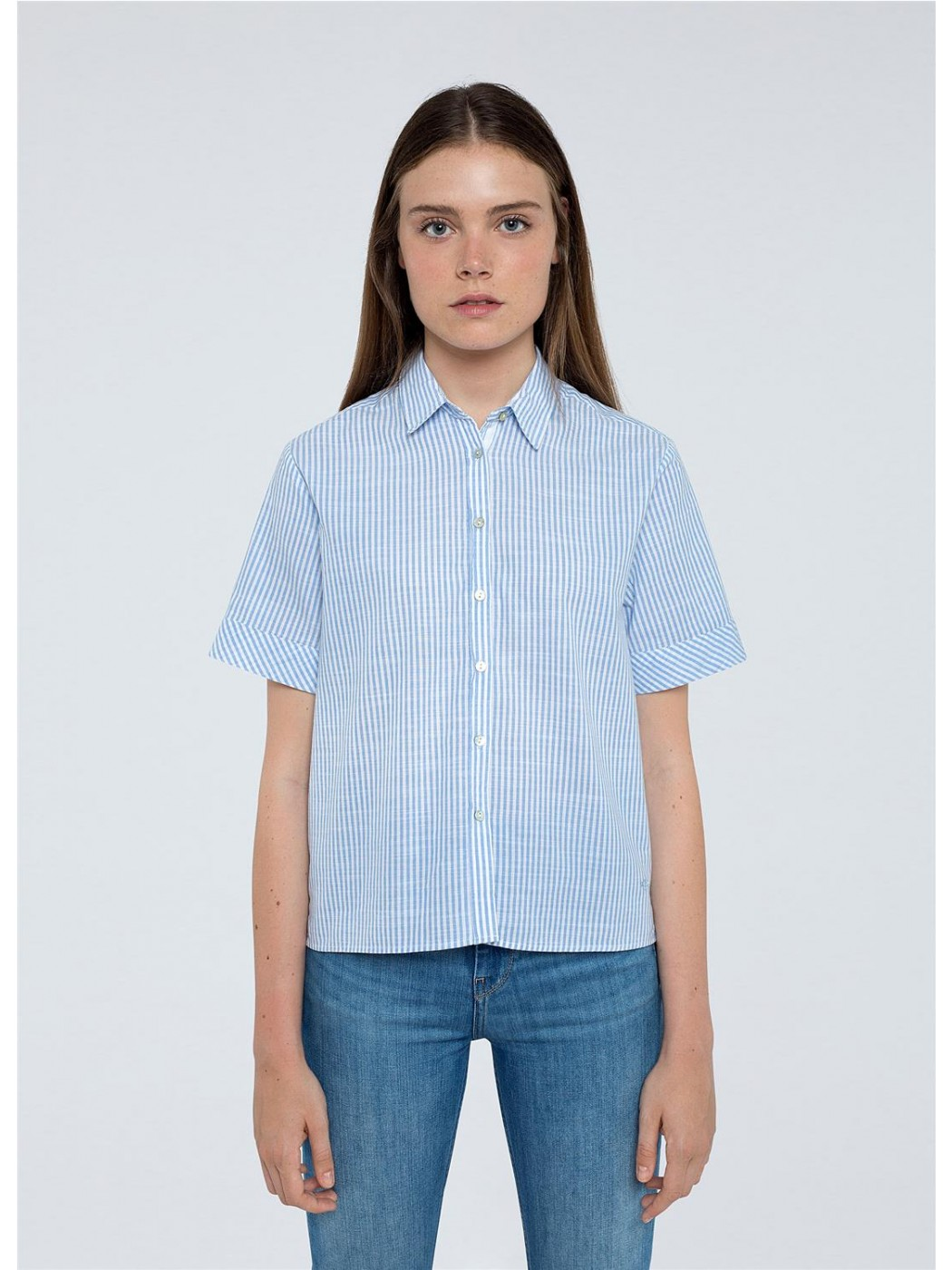 CAMISA PEPE JEANS A RAYAS...
