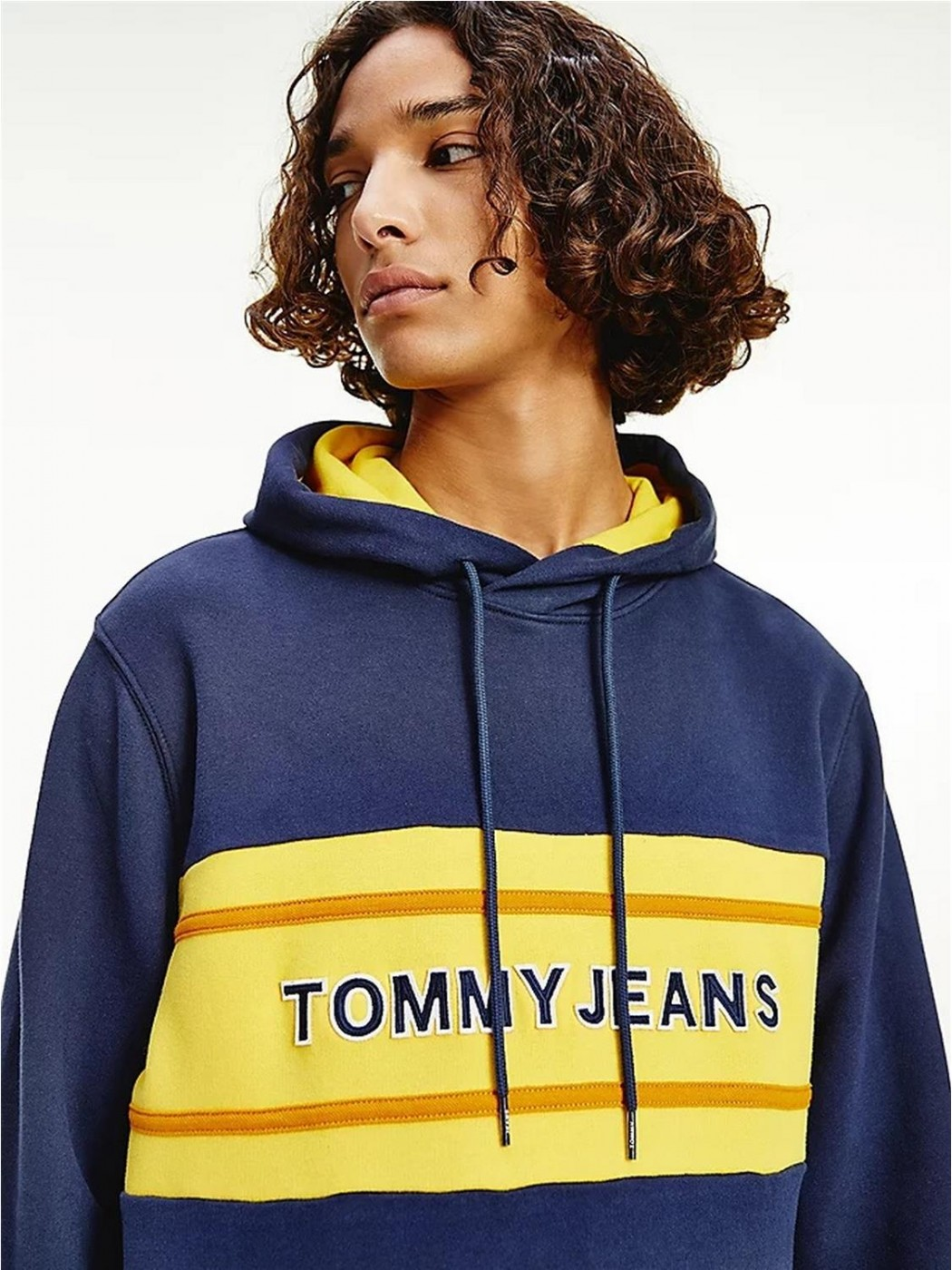 SUDADERA TOMMY JEANS PIECED...