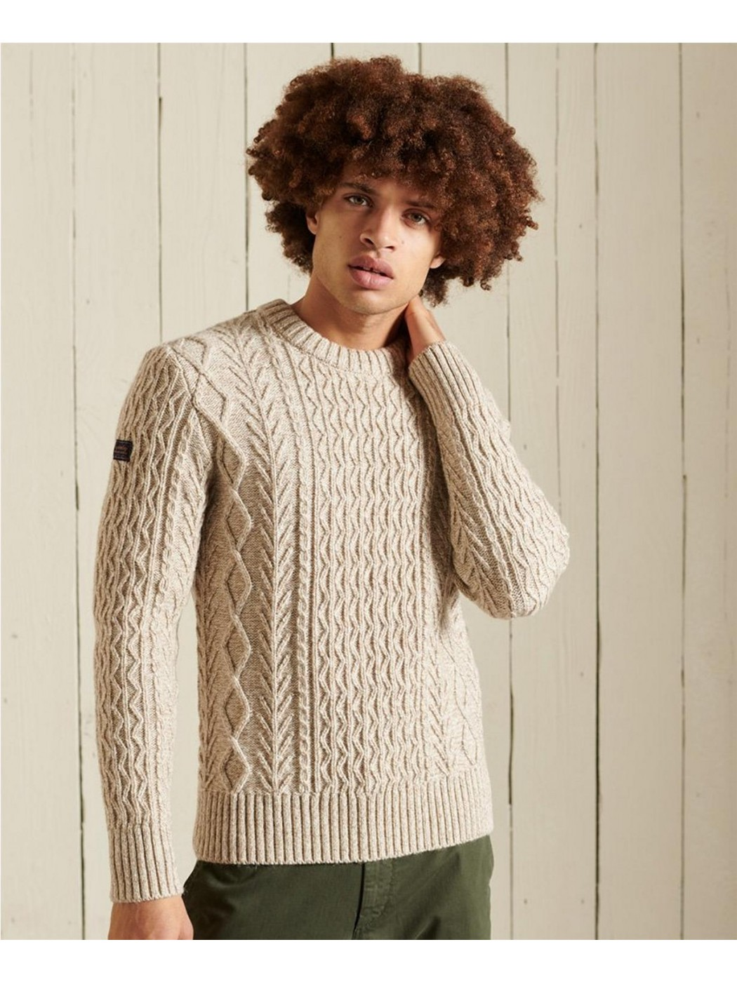 JERSEY SUPERDRY JACOB CABLE